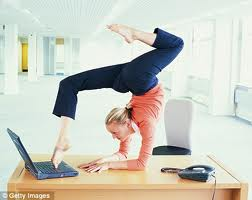 Exercising at the workplace