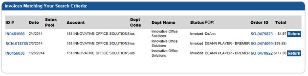 Copy of an invoice 2