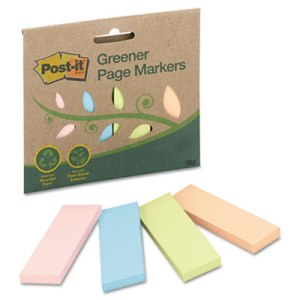 Post-it Greener Paper Markers